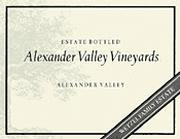 Alexander Valley Vineyards Gewurztraminer 1999 Front Label