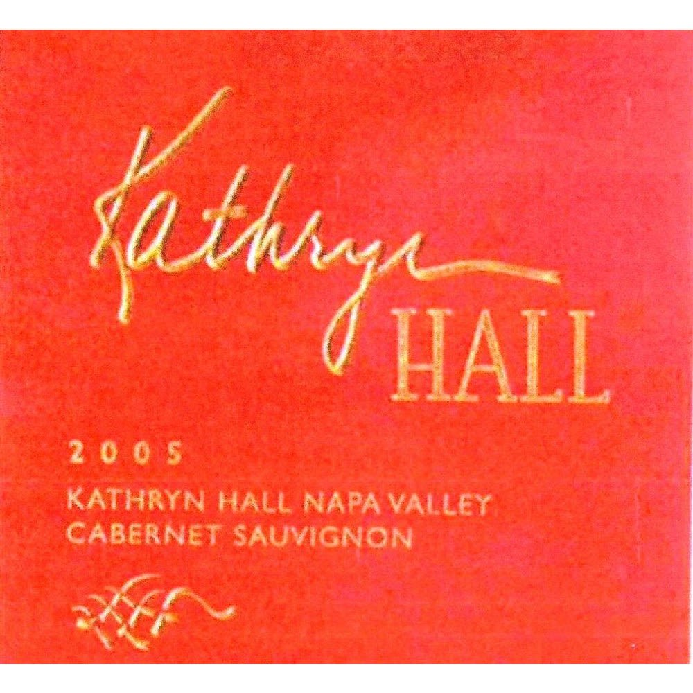 Hall Kathryn Hall Cabernet Sauvignon 2005 Front Label