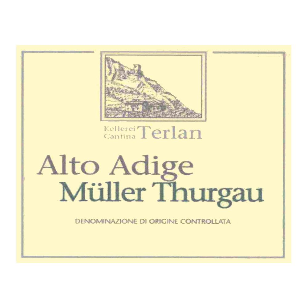 Terlano Muller Thurgau 2006 Front Label
