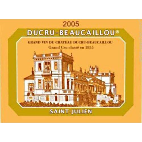 Chateau Ducru-Beaucaillou  2005 Front Label