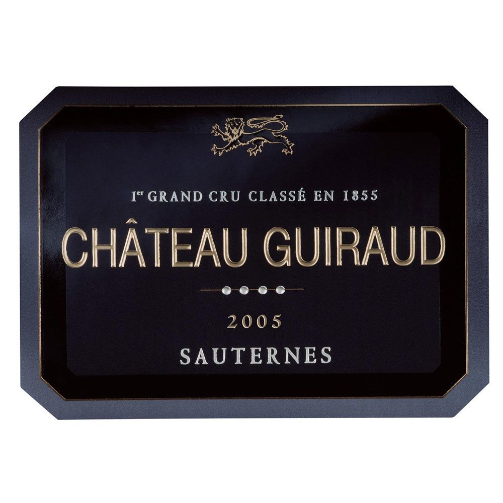 Chateau Guiraud Sauternes (375ML half-bottle) 2005 Front Label