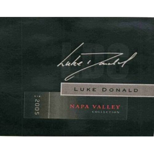 Luke Donald Collection Claret 2005 Front Label