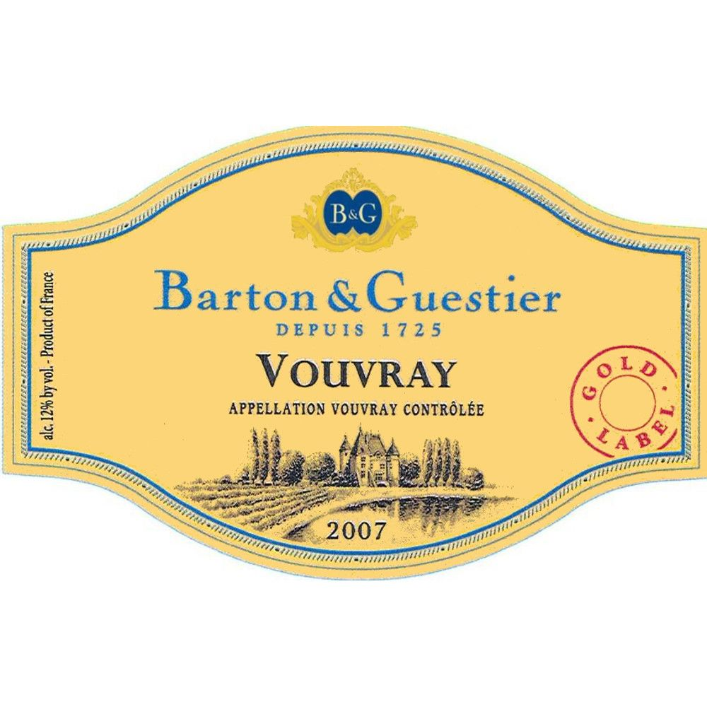 Barton & Guestier Vouvray 2007 Front Label