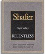 Shafer Relentless 2007 Front Label