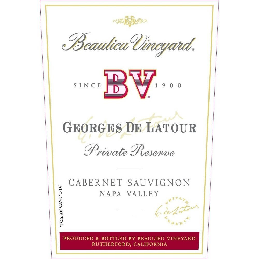 Beaulieu Vineyard Georges de Latour Private Reserve 2005 Front Label