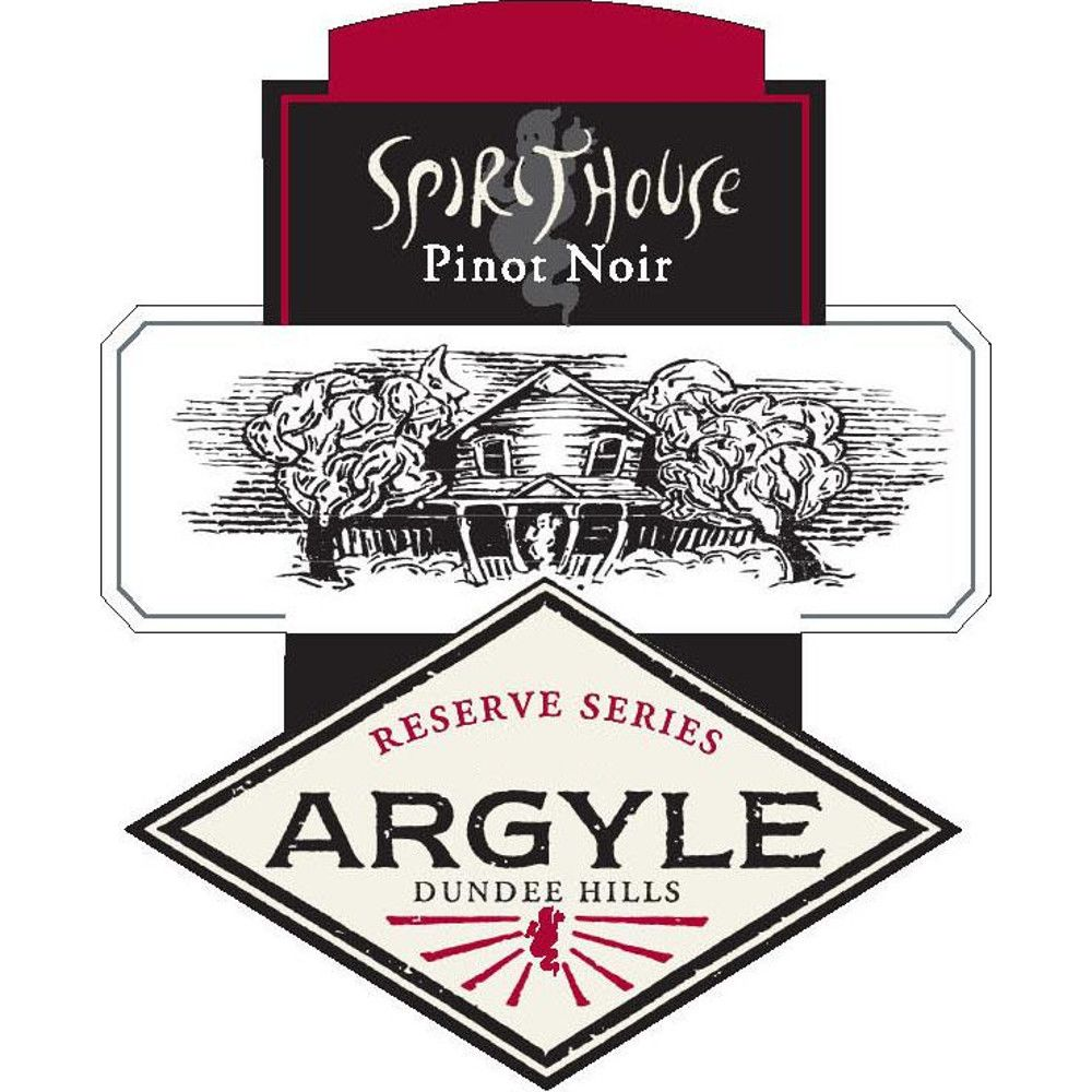 Argyle Spirithouse Pinot Noir 2006 Front Label