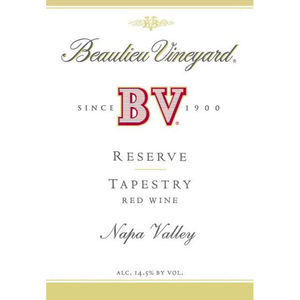 Beaulieu Vineyard Reserve Tapestry 2005 Front Label