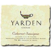 Golan Heights Cabernet Sauvignon Galilee Yarden (OU Kosher) 2004 Front Label