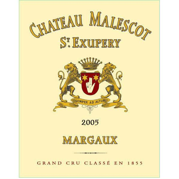 Chateau Malescot St. Exupery  2005 Front Label