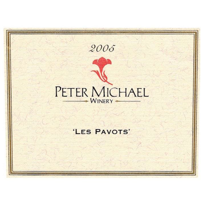 Peter Michael Les Pavots 2005 Front Label