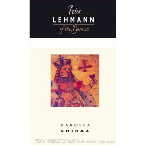 Peter Lehmann Shiraz 2006 Front Label