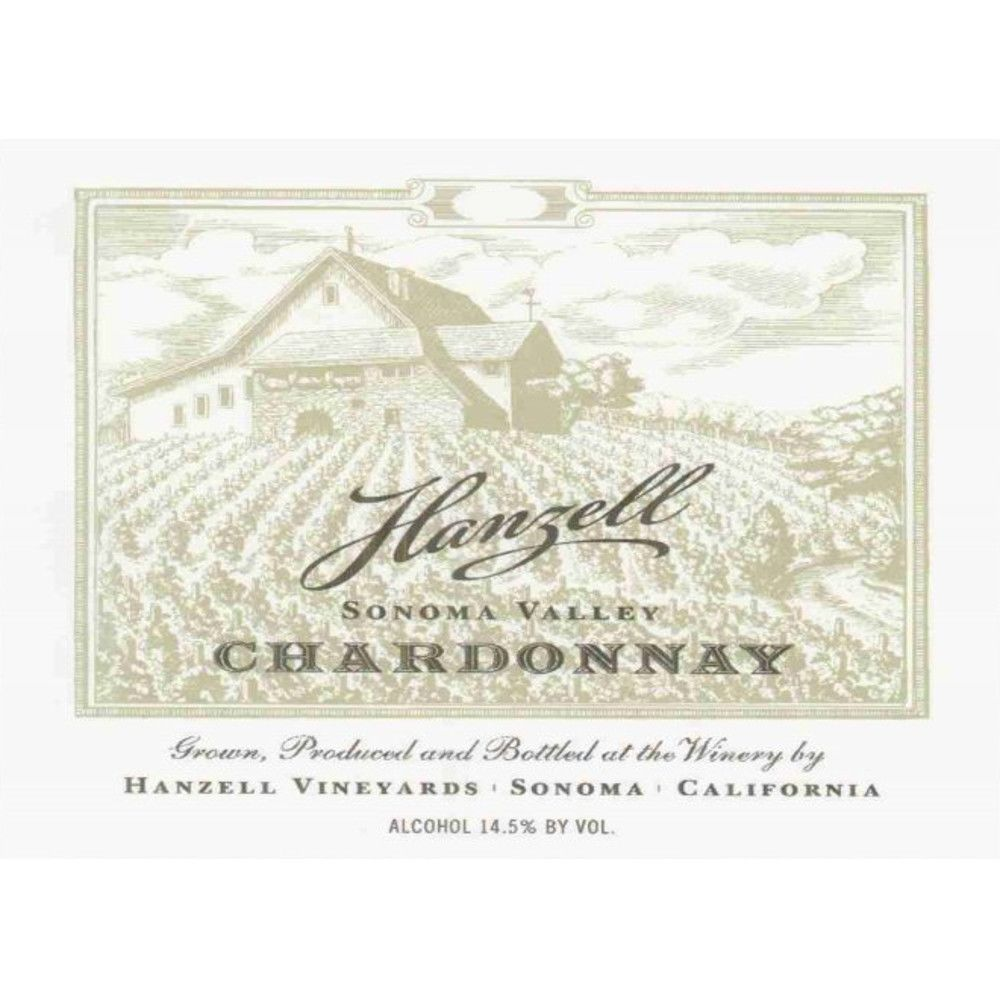 Hanzell Chardonnay 2006 Front Label