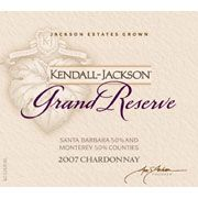 Kendall-Jackson Grand Reserve Chardonnay 2007 Front Label