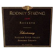 Rodney Strong Reserve Chardonnay 2006 Front Label