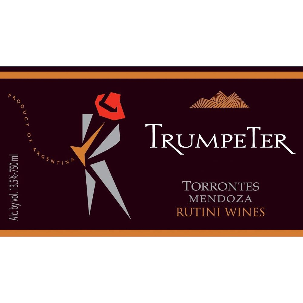 Trumpeter Torrontes 2008 Front Label