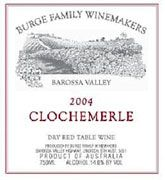 Burge Family Clochemerle GSM 2004 Front Label