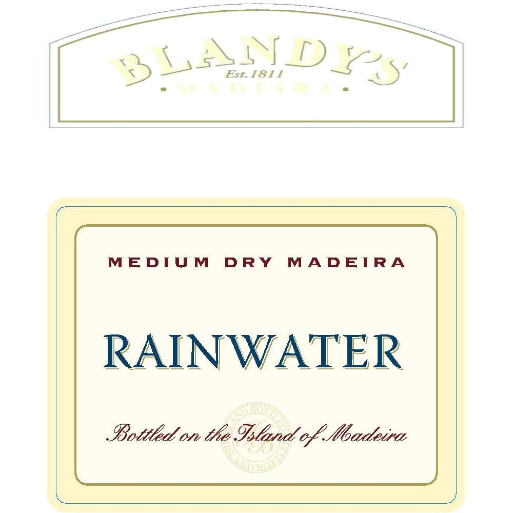 Blandy's Rainwater Madeira Front Label