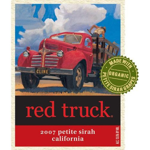 Red Truck Winery Petite Sirah 2007 Front Label
