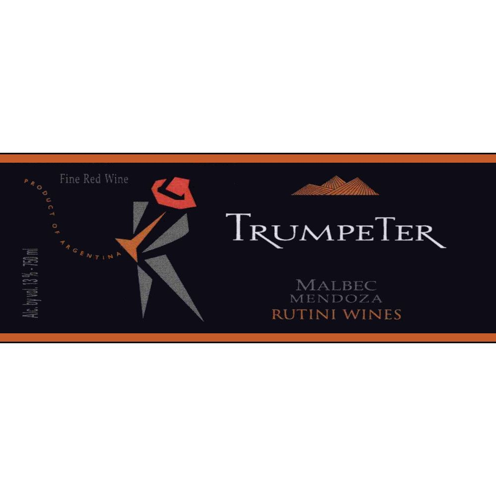 Trumpeter Malbec 2007 Front Label
