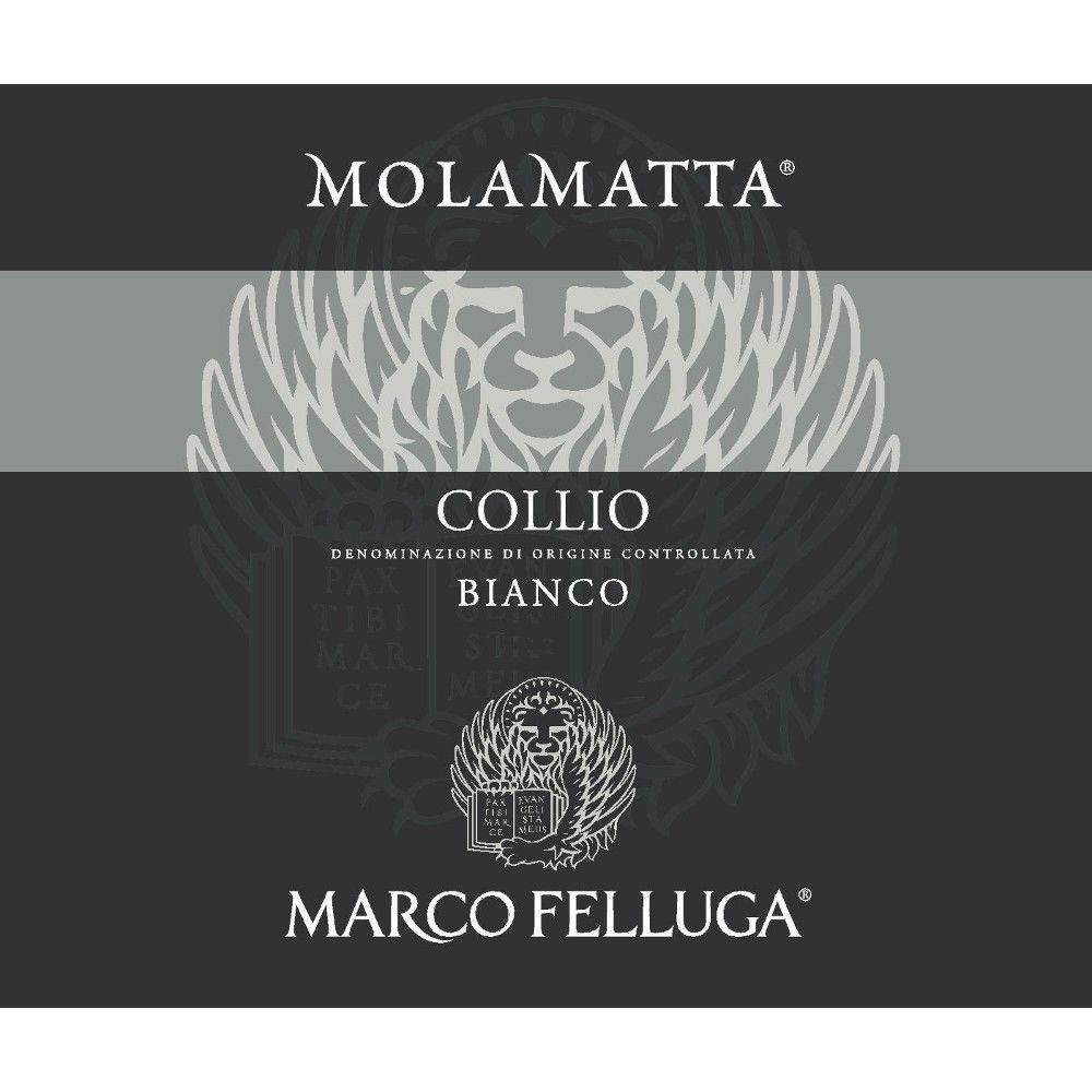 Marco Felluga Collio Molamatta 2007 Front Label