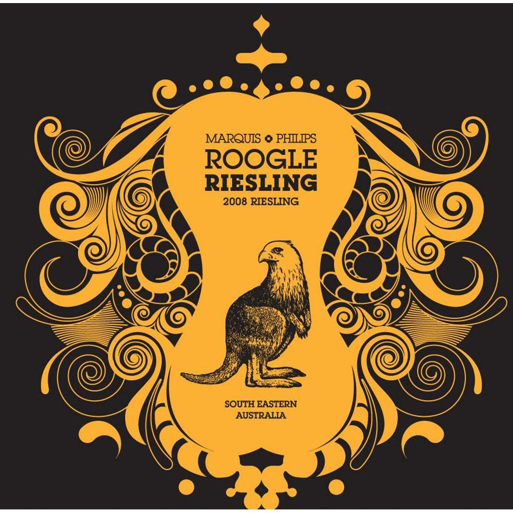 Marquis Philips Baby Roogle Riesling 2008 Front Label