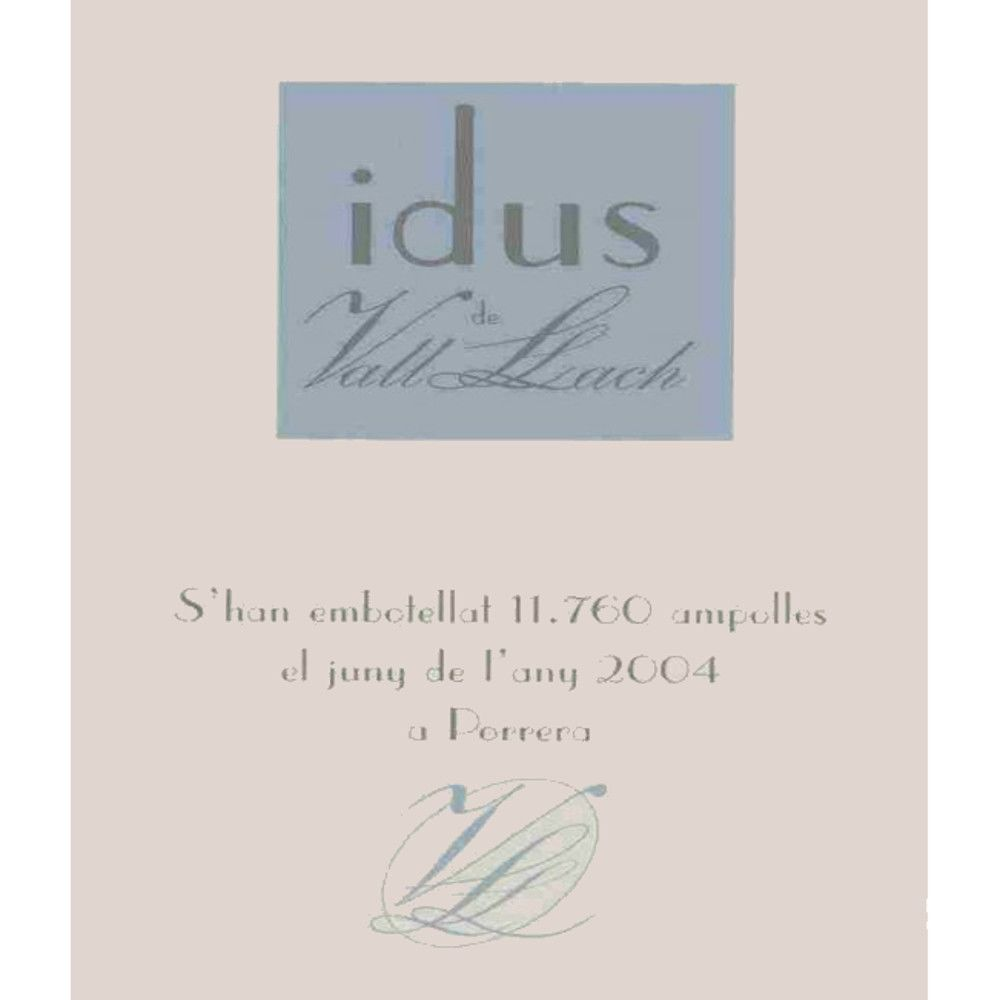 Vall Llach Idus 2005 Front Label