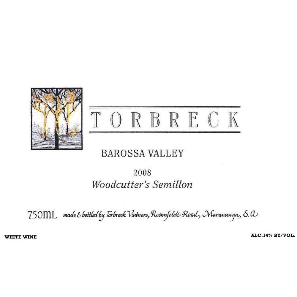 Torbreck Woodcutters Semillon 2008 Front Label