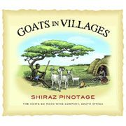 Goats do Roam In Villages Red 2007 Front Label