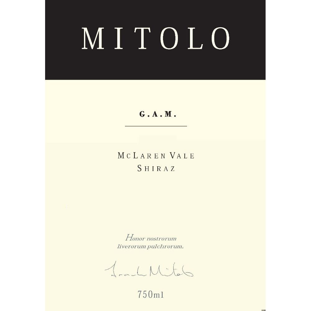 Mitolo G.A.M. 2007 Front Label