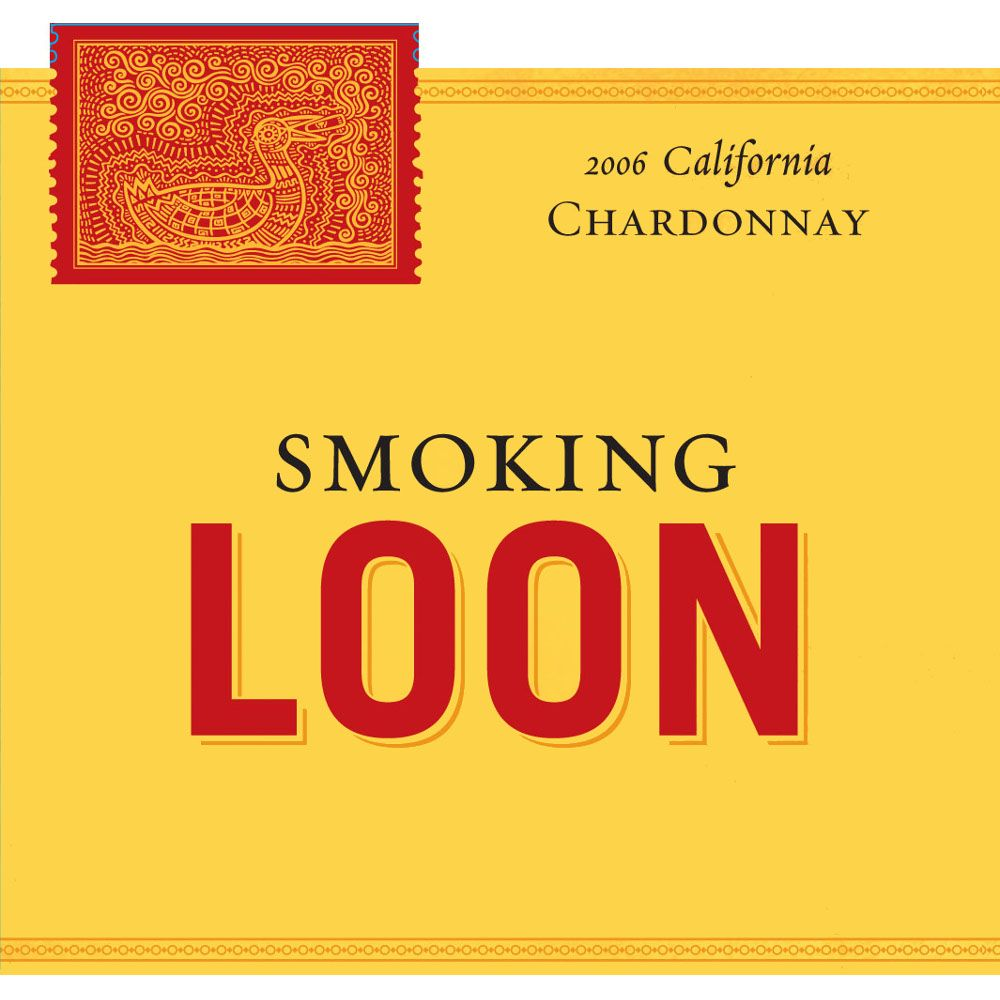 Smoking Loon Chardonnay 2006 Front Label