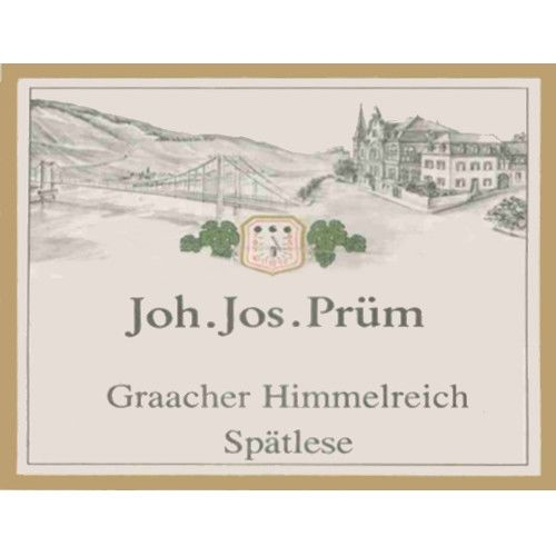 J.J. Prum Graacher Himmelreich Spatlese Riesling 2007 Front Label