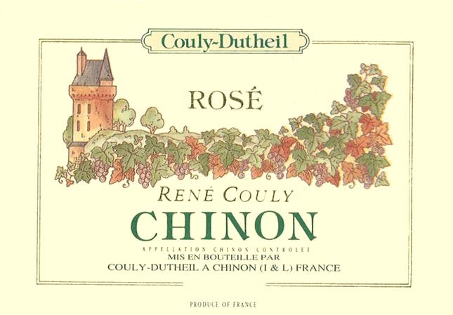 Couly-Dutheil Rene Couly Chinon Rose 2011 Front Label