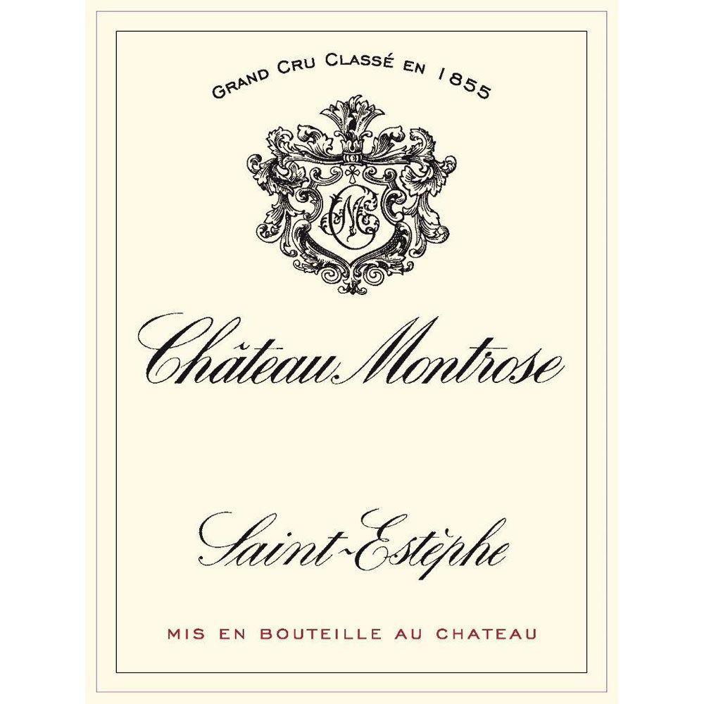 Chateau Montrose (375ML half-bottle) 2005 Front Label