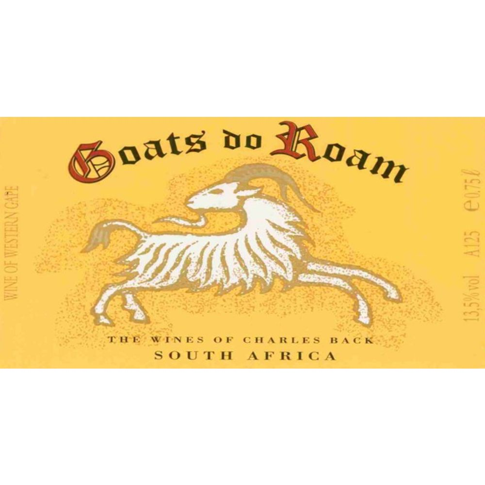 Goats do Roam Red 2007 Front Label