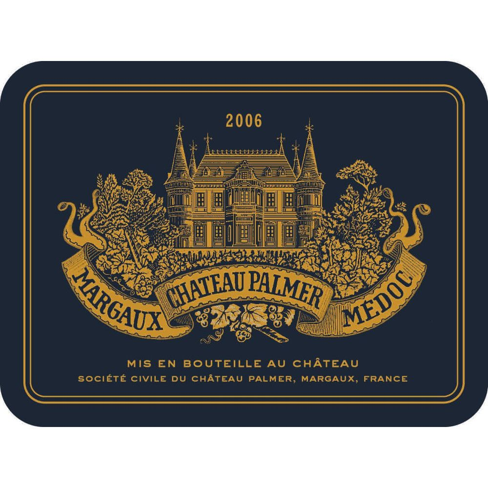 Chateau Palmer  2006 Front Label