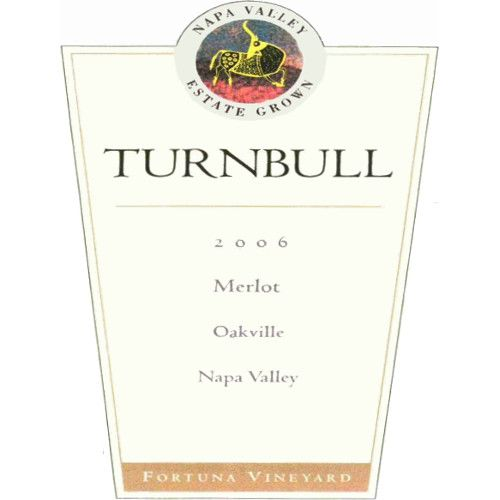 Turnbull Merlot 2006 Front Label