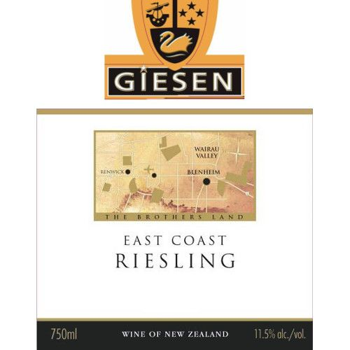 Giesen Riesling 2007 Front Label