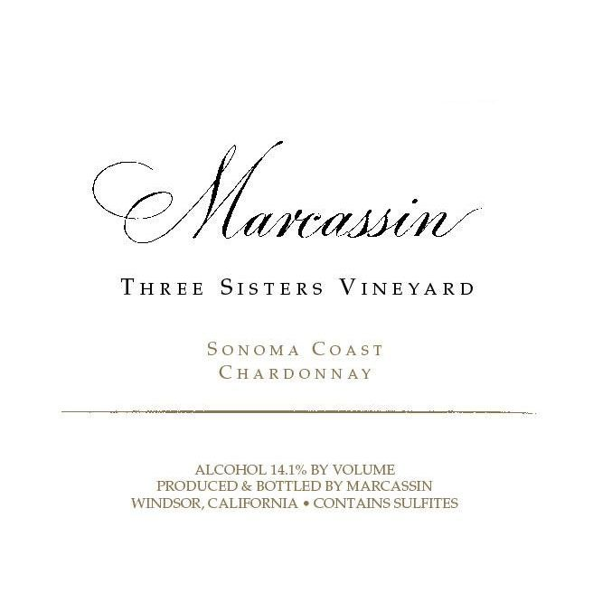 Marcassin Three Sisters Vineyard Chardonnay 2004 Front Label