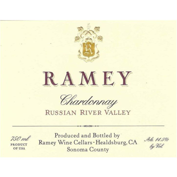 Ramey Russian River Chardonnay 2006 Front Label