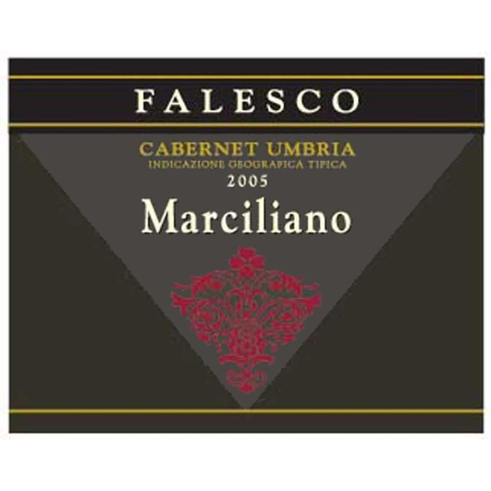 Falesco Marciliano 2005 Front Label