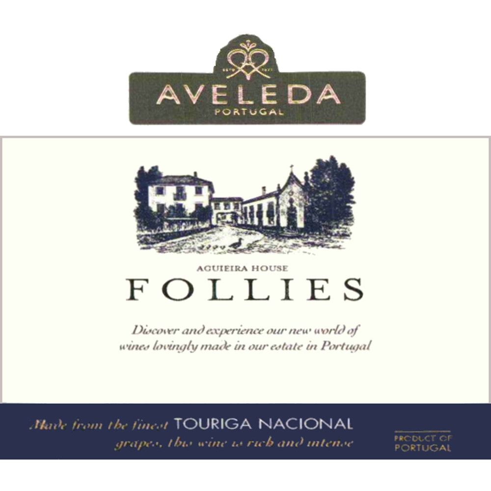 Aveleda Follies Touriga Nacional 2005 Front Label