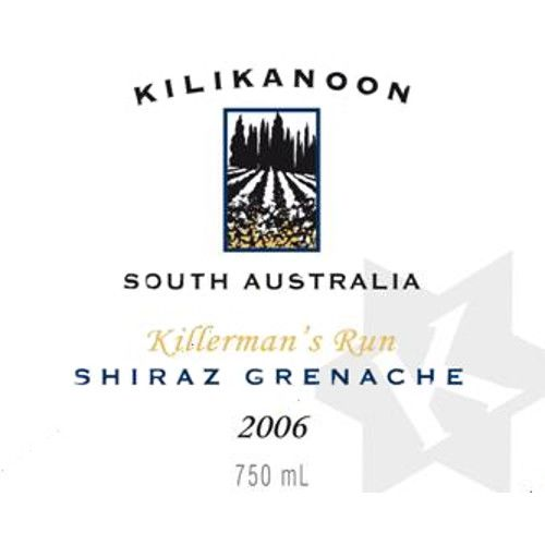 Kilikanoon Killerman's Run Shiraz/Grenache 2006 Front Label