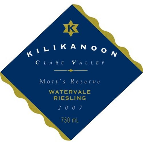 Kilikanoon Mort's Reserve Riesling 2007 Front Label