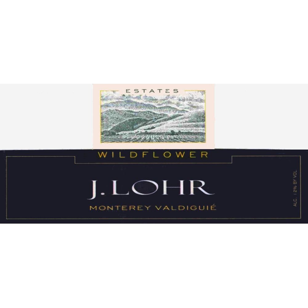 J. Lohr Wildflower Valdiguie 2008 Front Label