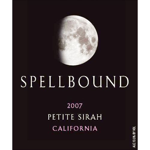 Spellbound Petite Sirah 2007 Front Label