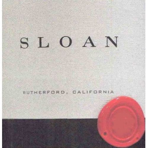 Sloan Proprietary Red 2005 Front Label