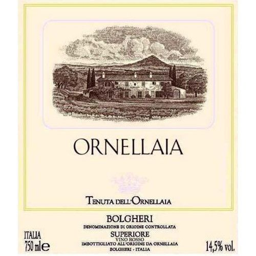 Ornellaia  2006 Front Label