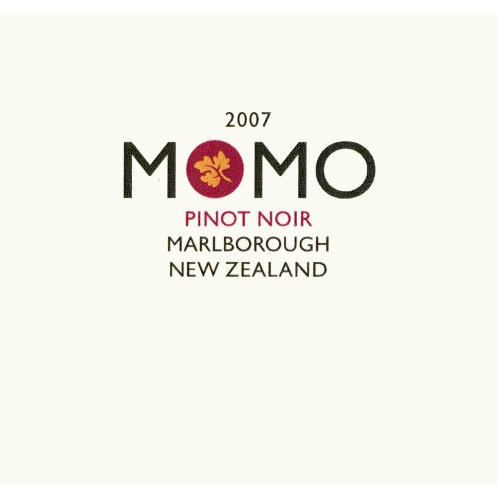 Momo Pinot Noir 2007 Front Label