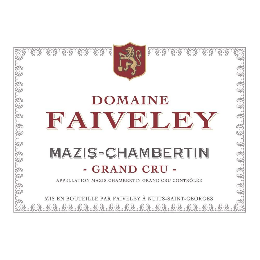 Domaine Faiveley Mazis-Chambertin Grand Cru 2006 Front Label