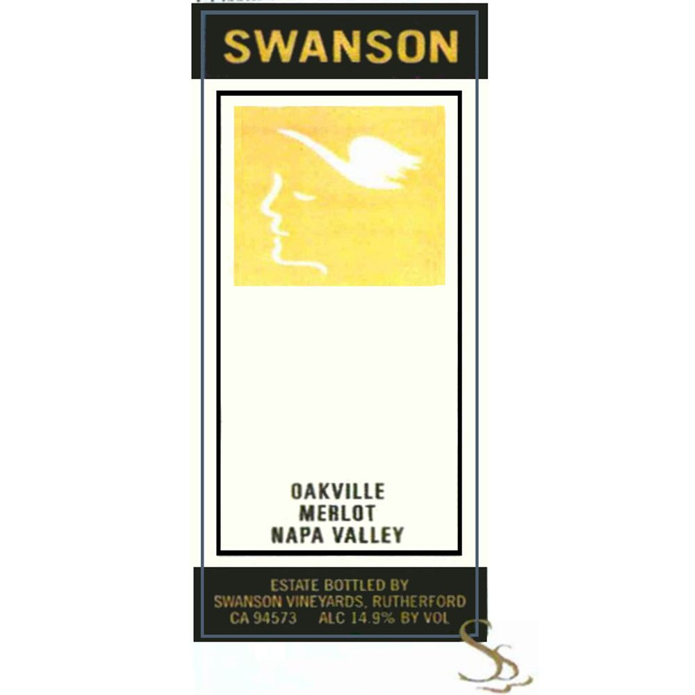 Swanson Oakville Merlot (375ML half-bottle) 2005 Front Label